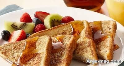 نان تست فرانسوی