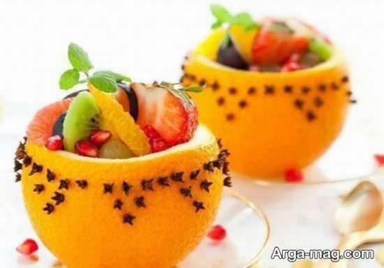 میوه آرایی دوست داشتنی پرتقال