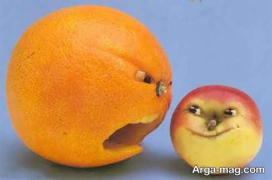 میوه آرایی پرتقال با خاص ترین ایده ها