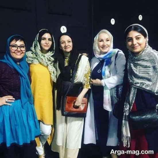 حضور هنرمندان در نمایش آناهیتا همتی