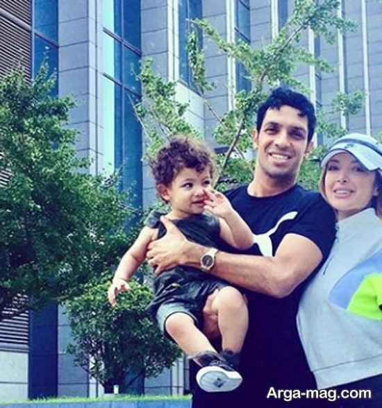 مسافرت لاکچری سپهر حیدری به همراه خانواده در خارج
