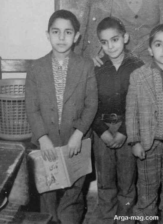 عکس جالب مهران مدیری در مدرسه