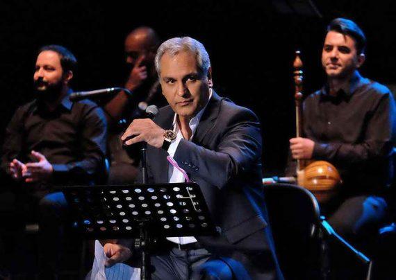 گوهر خیر اندیش و کمند امیرسلیمانی در کنسرت مهران مدیری