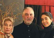 عکس تازه منتشر شده از ایرج نوذری در کنار دخترش