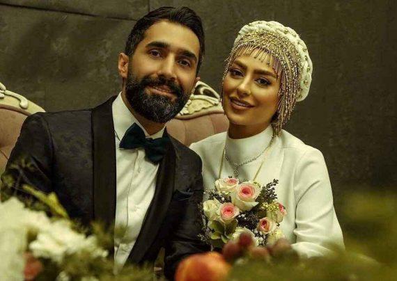 چهره بدون میکاپ سمانه پاکدل در کنار همسر