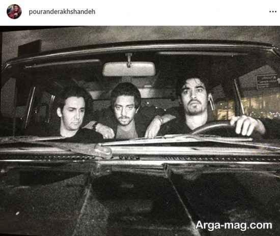 بهرام رادان همراه شهاب حسینی در 16 سال پیش