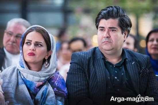 رونمایی از آلبوم جدید سالار عقیلی در کنار همسرش