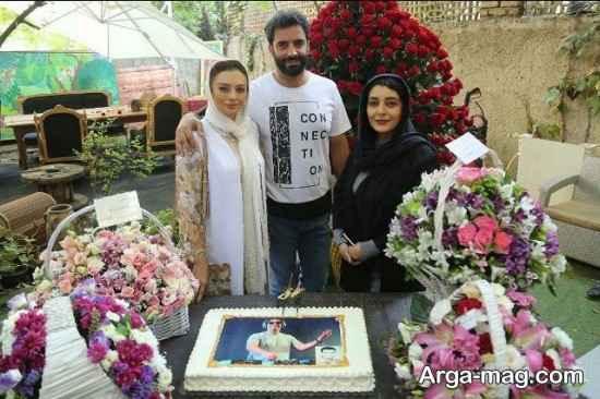 تبریک ساره بیات در روز تولد منوچهر هادی