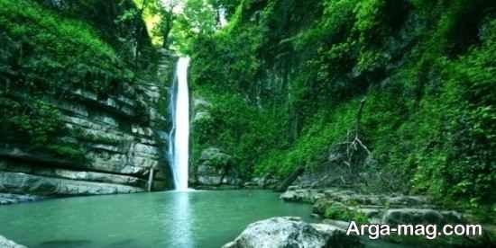 مکان های دیدنی آبشار شیرآباد