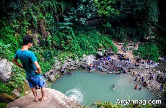 آبشار دیدنی شیرآباد