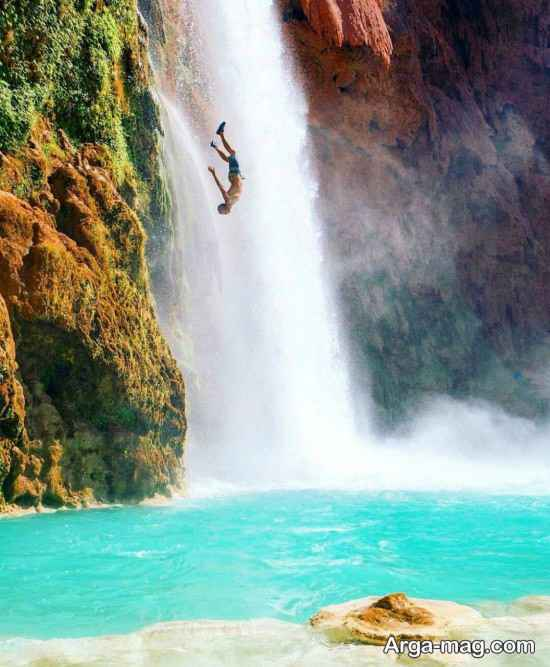آبشار مرتفع شیرآباد