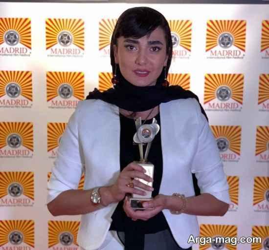 کسب جایزه بهترین بازیگر زن در جشنواره مادرید توسط میان وحید