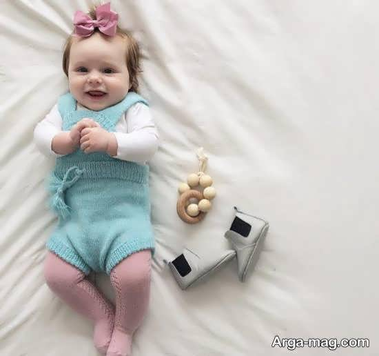 ایده هایی زیبا و دوست داشتنی از فیگور عکس کودک در منزل