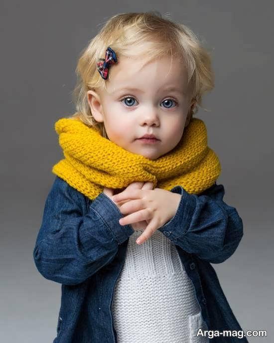 نمونه های بی نظیر و فوق العاده ژست عکس کودک در منزل