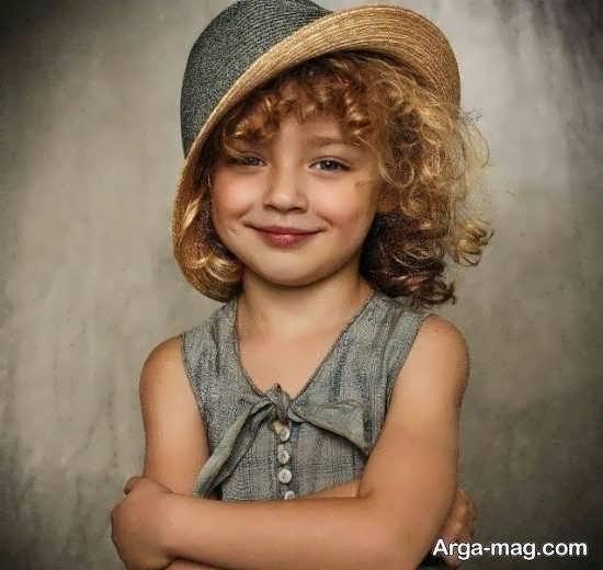 آلبوم فیگور عکس کودک متنوع و زیبا در منزل جهت الگوبرداری