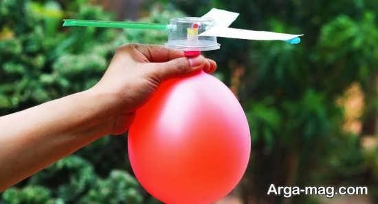 ترفند های جالب و شیک برای کاردستی با بادکنک