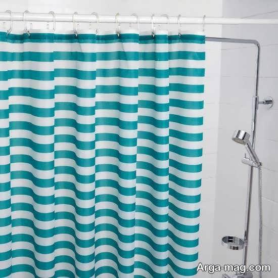 نمونه های پرده حمام با تنوع بسیار در طرح و اندازه و رنگ