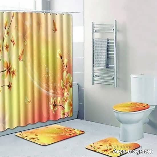 کلکسیون نمونه های پرده حمام با تنوع در طرح و رنگ و اندازه