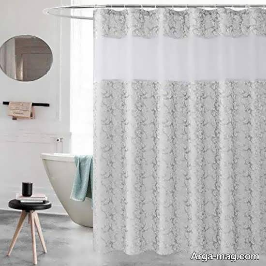 مجموعه ای زیبا و دلنشین از طرح پرده حمام