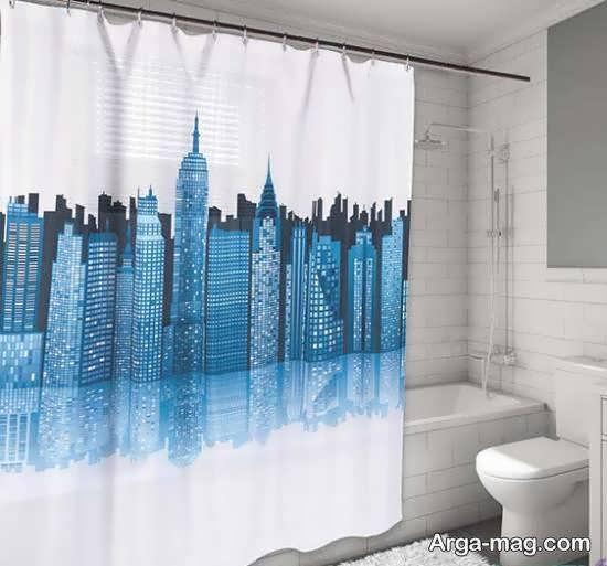 مجموعه نمونه های زیبا و شیک از پرده حمام