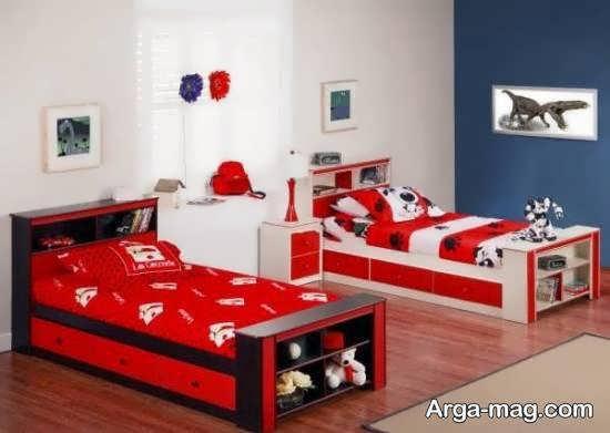 ایده های دیزاین اتاق خواب شیک و مجلل برای کودکان پسر