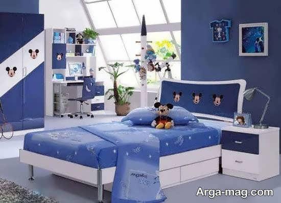 نمونه های دکوراسیون و طراحی اتاق خواب بچگانه شیک و لوکس با رنگ ها و لوازم زیبا و شاد