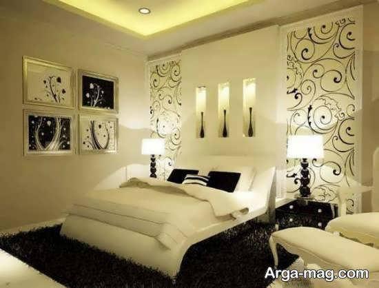 نمونه های دیزاین اتاق خواب مدرن و مجلل با تختخواب های دونفره لوکس