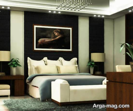 نمونه های دیزاین اتاق خواب شیک و آراسته برای خوابیدن