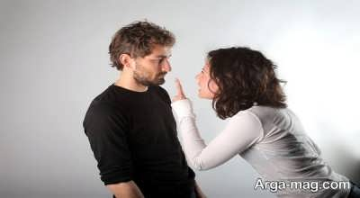 سرزنش همسر ممنوع