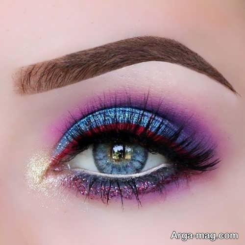 آرایش چشم زیبا و حرفه ای