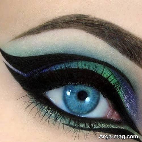 مدل آرایش چشم شیک و مجلسی