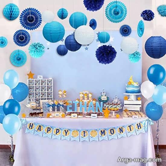 تزئین تولد پسرانه+عکس