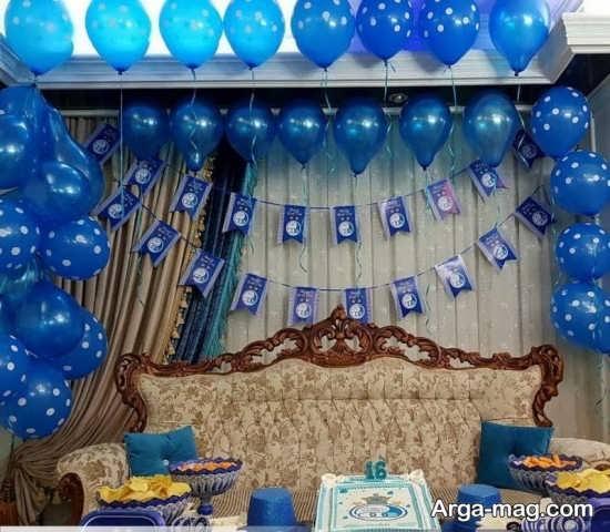 دیزاین زیبای تولد پسرانه