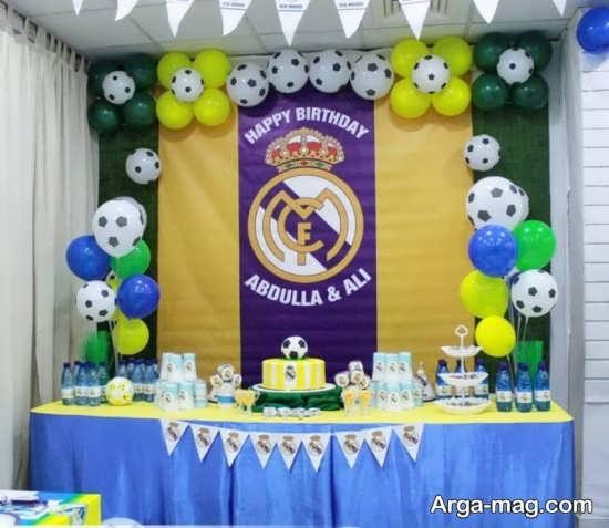 تزئین جشن تولد پسرانه+عکس