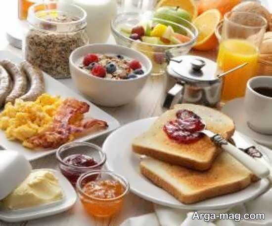 نمونه های سفره آرایی صبحانه با روش های زیبا و اشتها آور