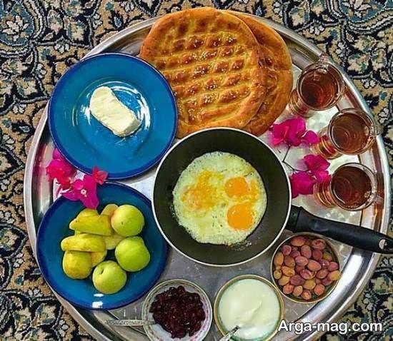 ایده های سفره آرایی صبحانه به شیوه ای ساده و محبوب