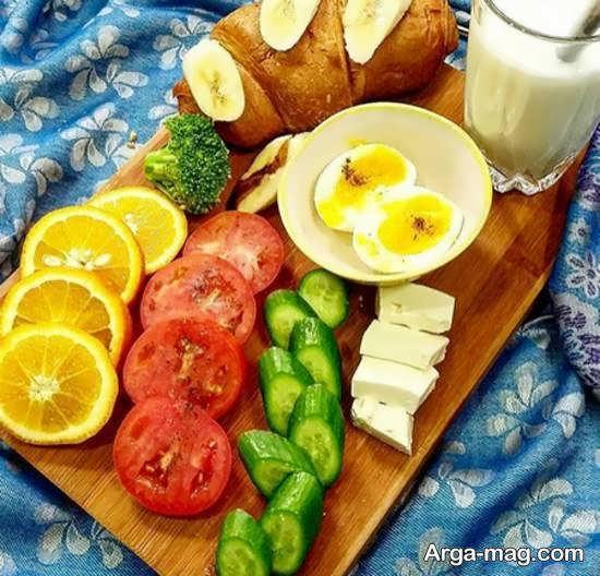 شیک ترین و متنوع ترین ایده های آراستن سفره برای وعده صبحانه