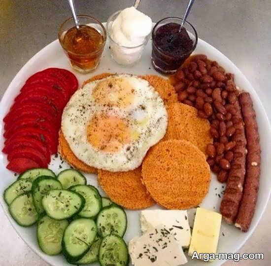 ایده هایی شیک و جدید از تزیینات سفره برای صبحانه