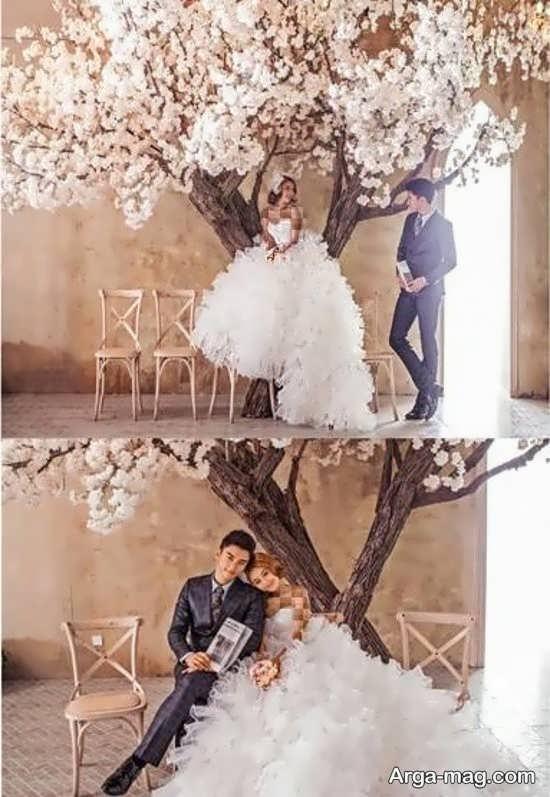 دکوراسیون شیک آتلیه عروس