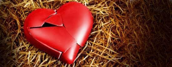انواع عکس قلب شکسته احساسی و شیک برای پروفایل