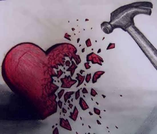 انواع تصاویر قلب شکسته زیبا و احساسی برای تزیین صفحات مجازی