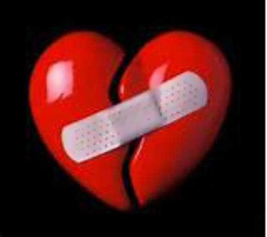ایده هایی متنوع و متفاوت از تصویر قلب شکسته برای صفحه مجازی