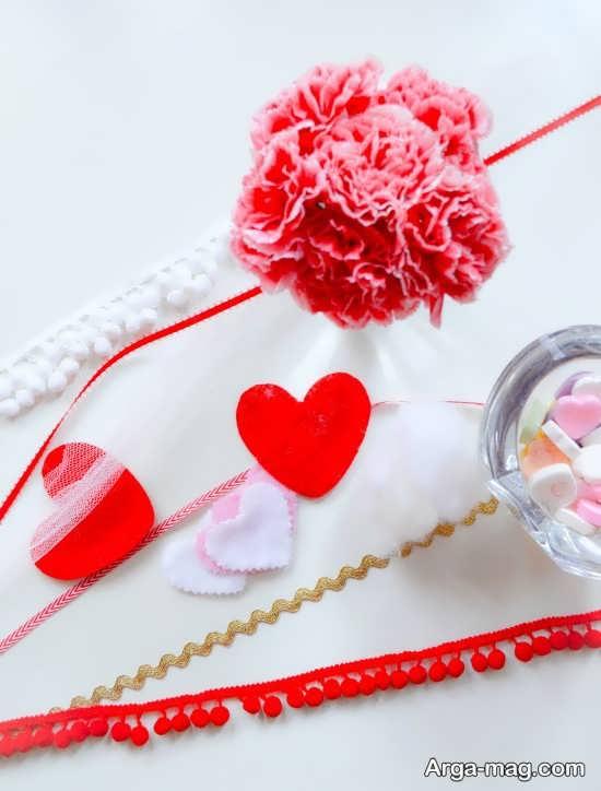 درست کردن انواع قلب نمدی