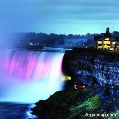 کشور کانادا با آب و هوایی متنوع و دارای جهار فصل متغیر