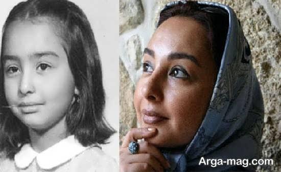 عکس دیده نشده کودکی بازیگران