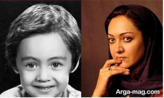 عکس زیبای کودکی بازیگران