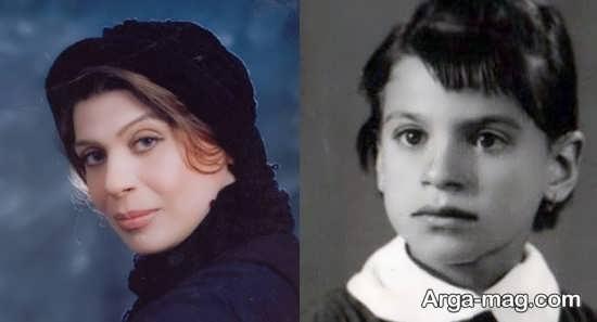 عکسی از کودکی بازیگران