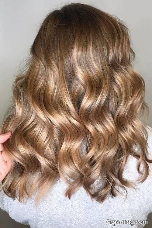 رنگ مو شامپاینی روشن