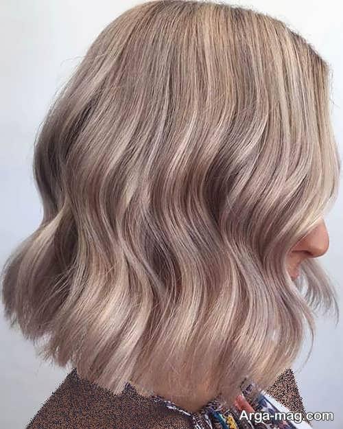 رنگ مو شامپاینی بژ