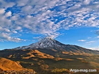 کوه زیبای دماوند